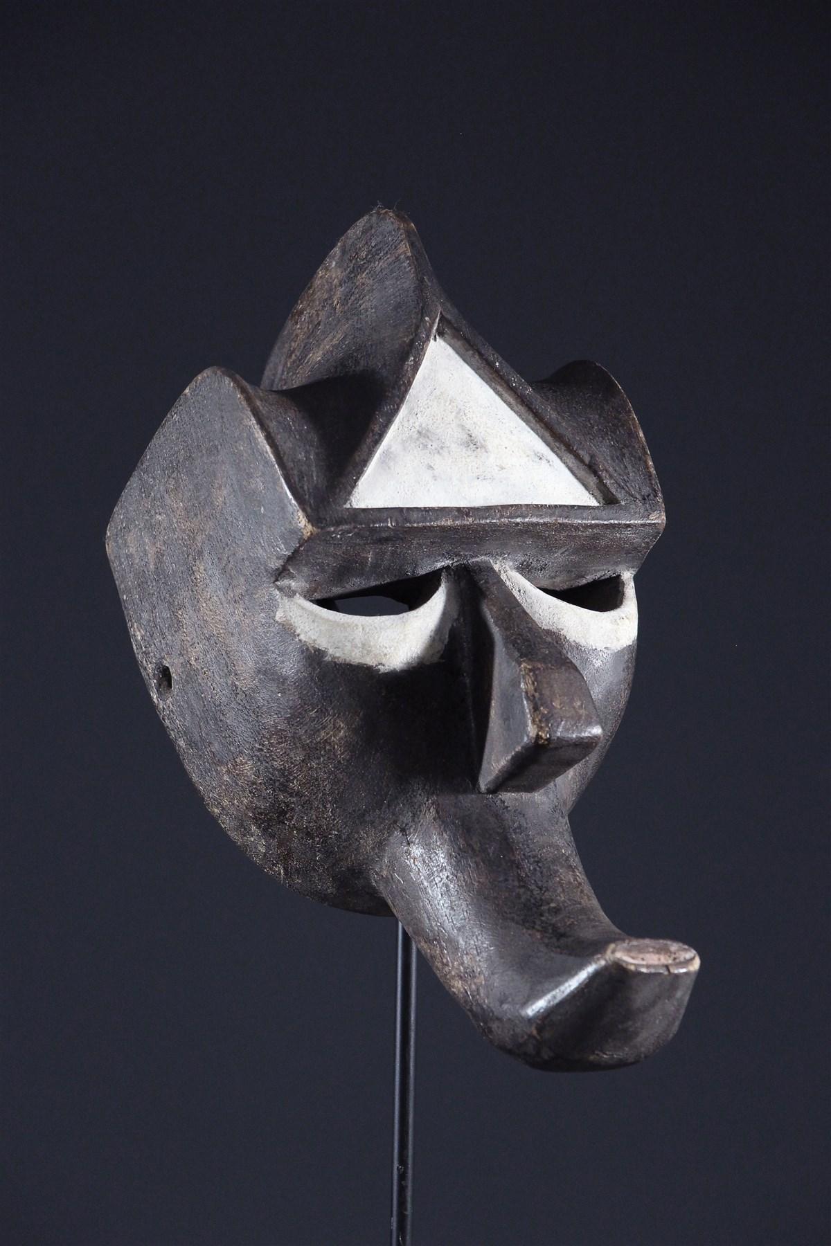 Masque Kwele Gon - art primitif