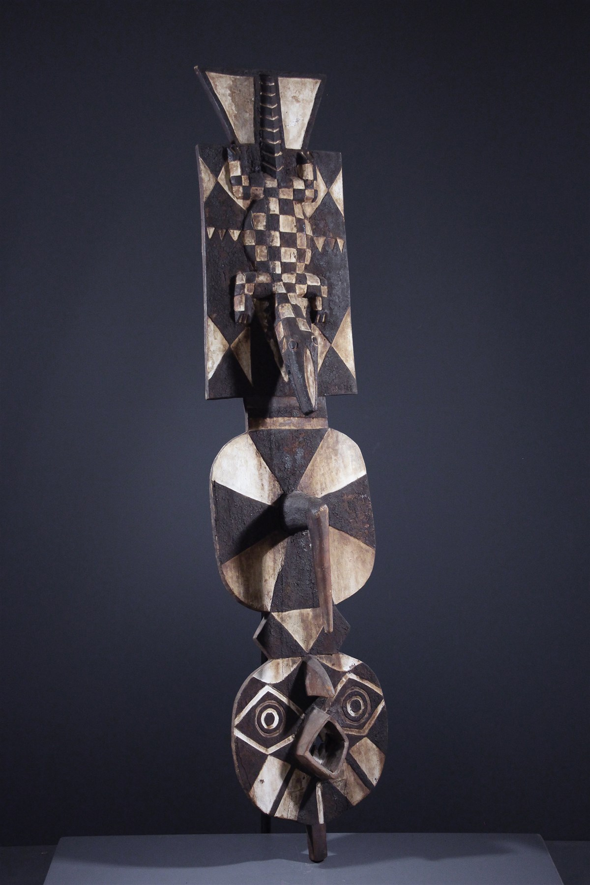 Masque Nawantante des Bwa - art primitif