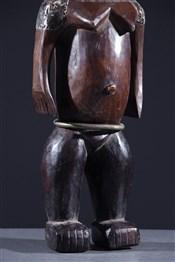 Statues africainesSculpture féminine Ngbaka Minagende