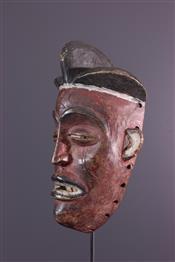 Masque africainMasque Tchokwe
