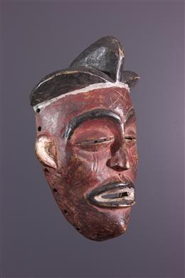Art africain - Masque Pwo Chokwé