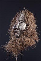 Masque africainMasque  Suku Kakungu