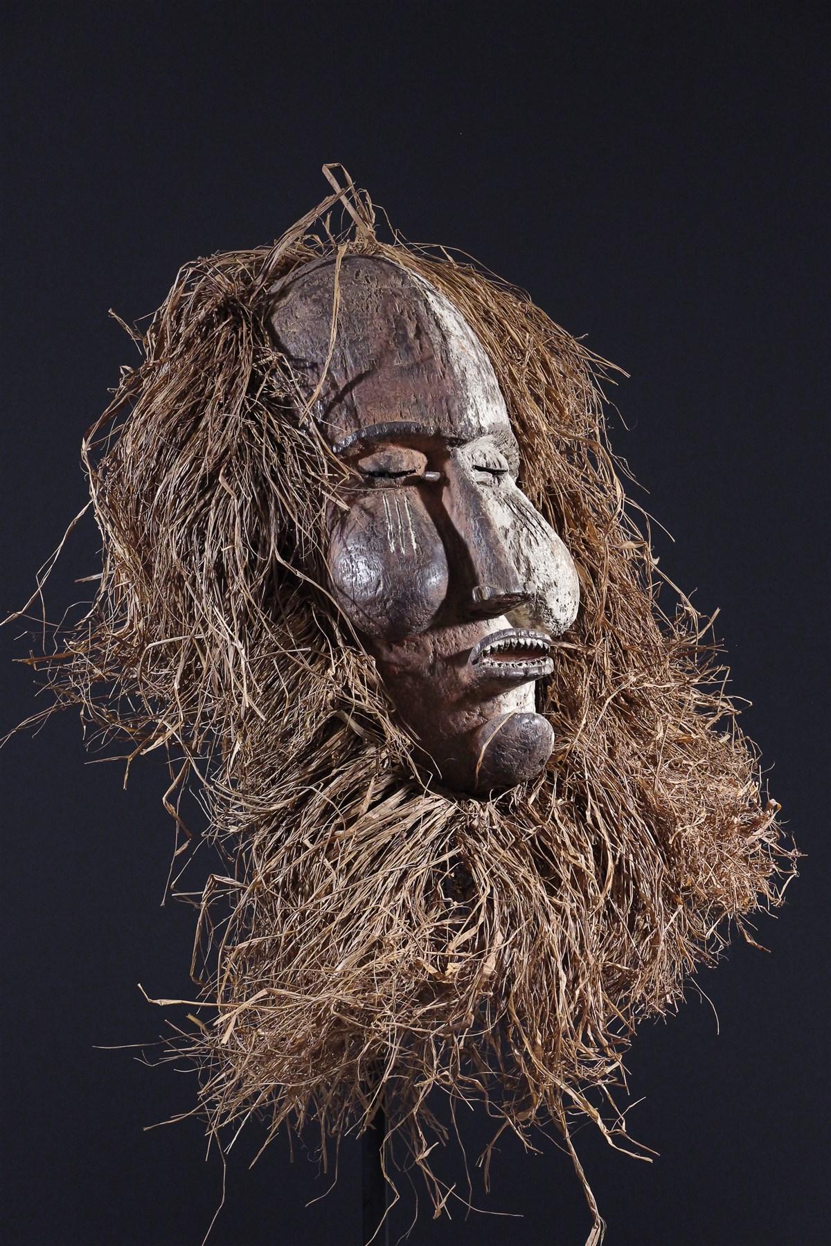 Masque  Suku Kakungu - Art africain