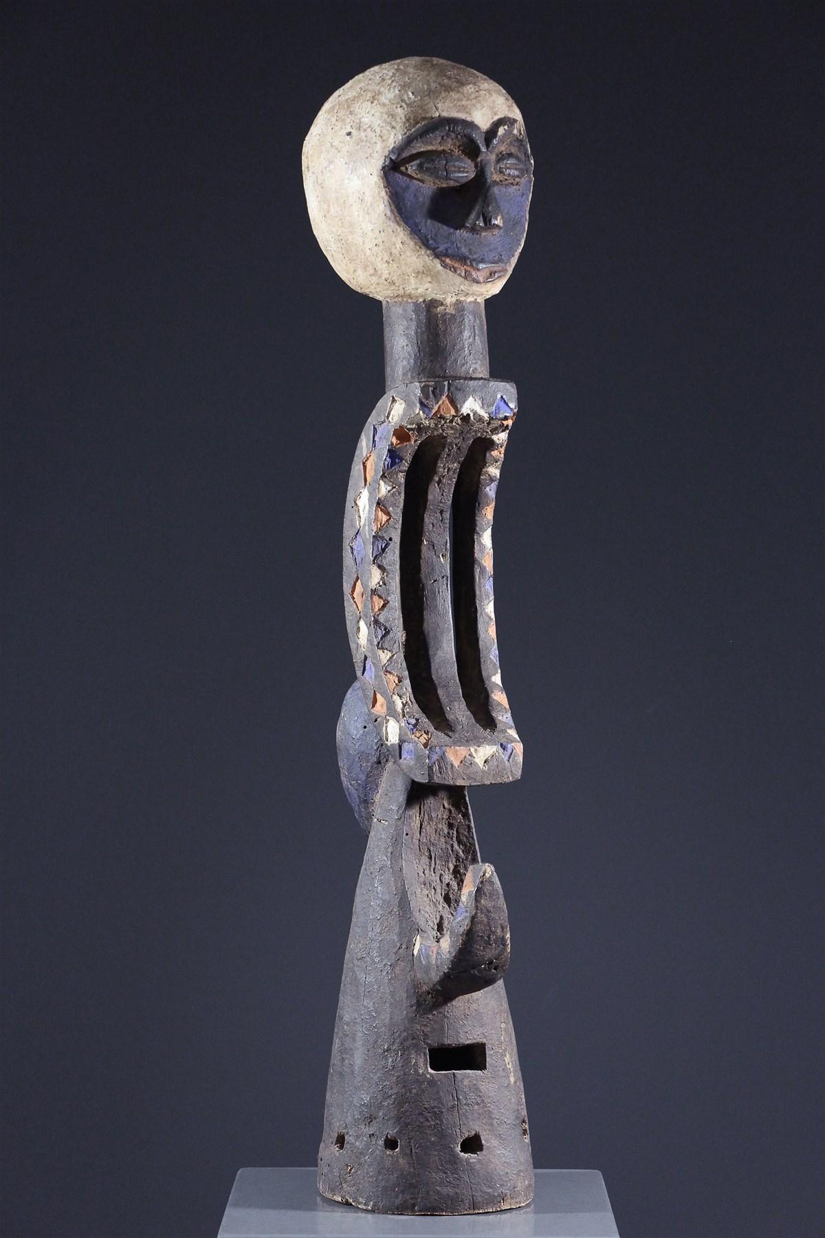 Masque cimier Eket - Art africain