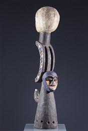 Masque africainMasque cimier Eket
