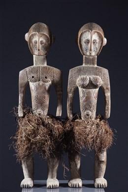 Couple de statues Kakungu