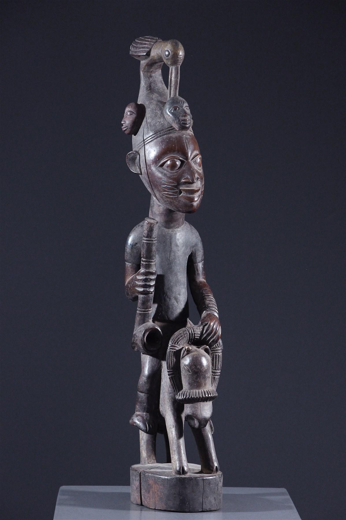 Cavalier Yoruba - Art africain