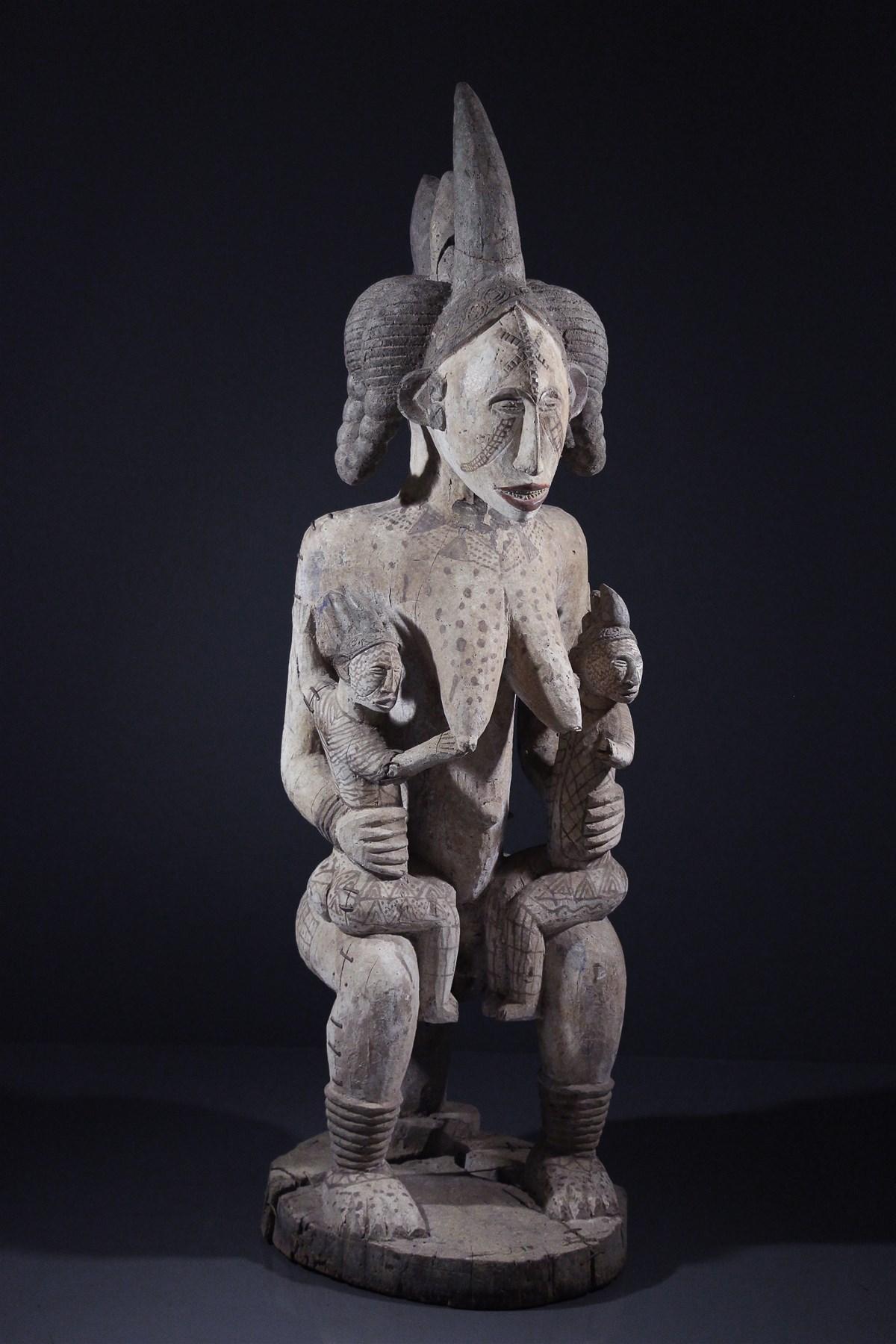Maternité Igbo - Art africain