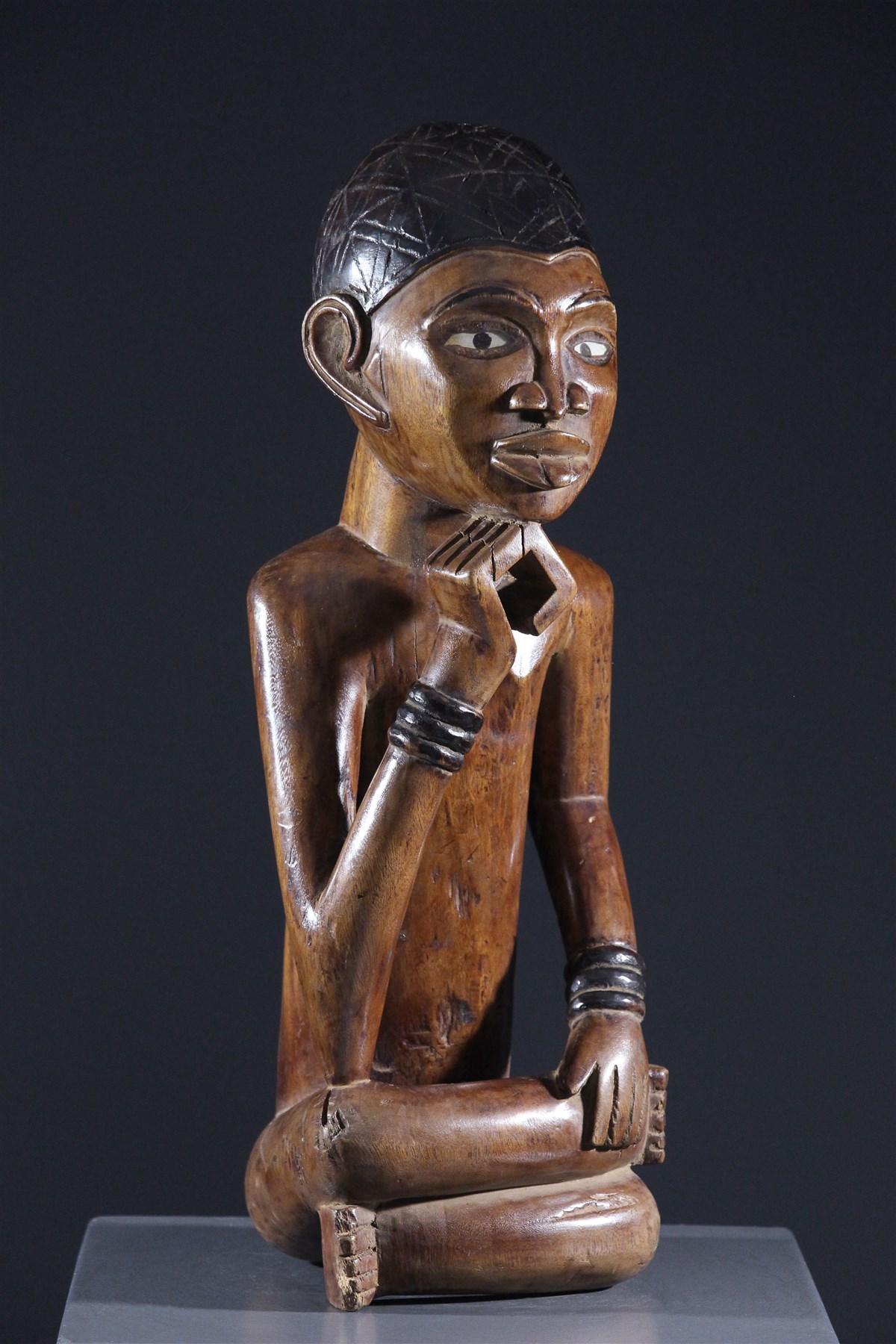 Statue Kongo Yombé - Art africain