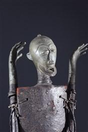bronze africainFigures d autel Ogboni