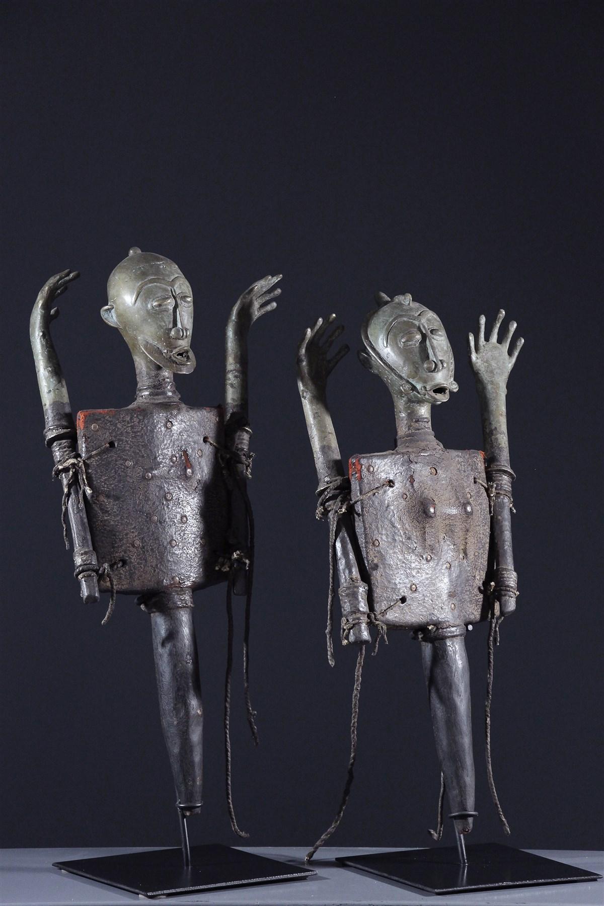 Figures d'autel Ogboni - art africain