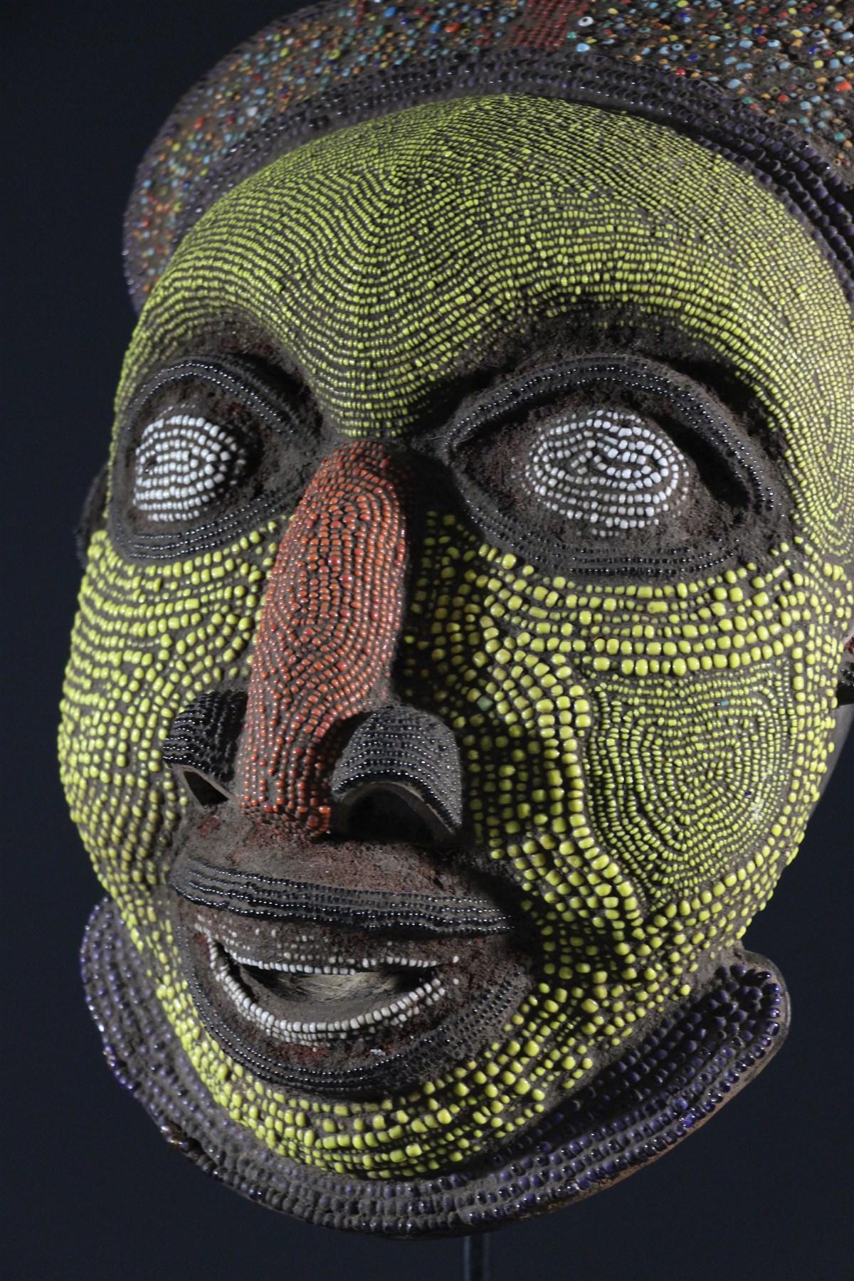 masque bamoun 11433 masques art africain. Black Bedroom Furniture Sets. Home Design Ideas