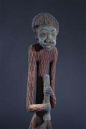 TrôneStatue-trône perlée Afo -a- Kom