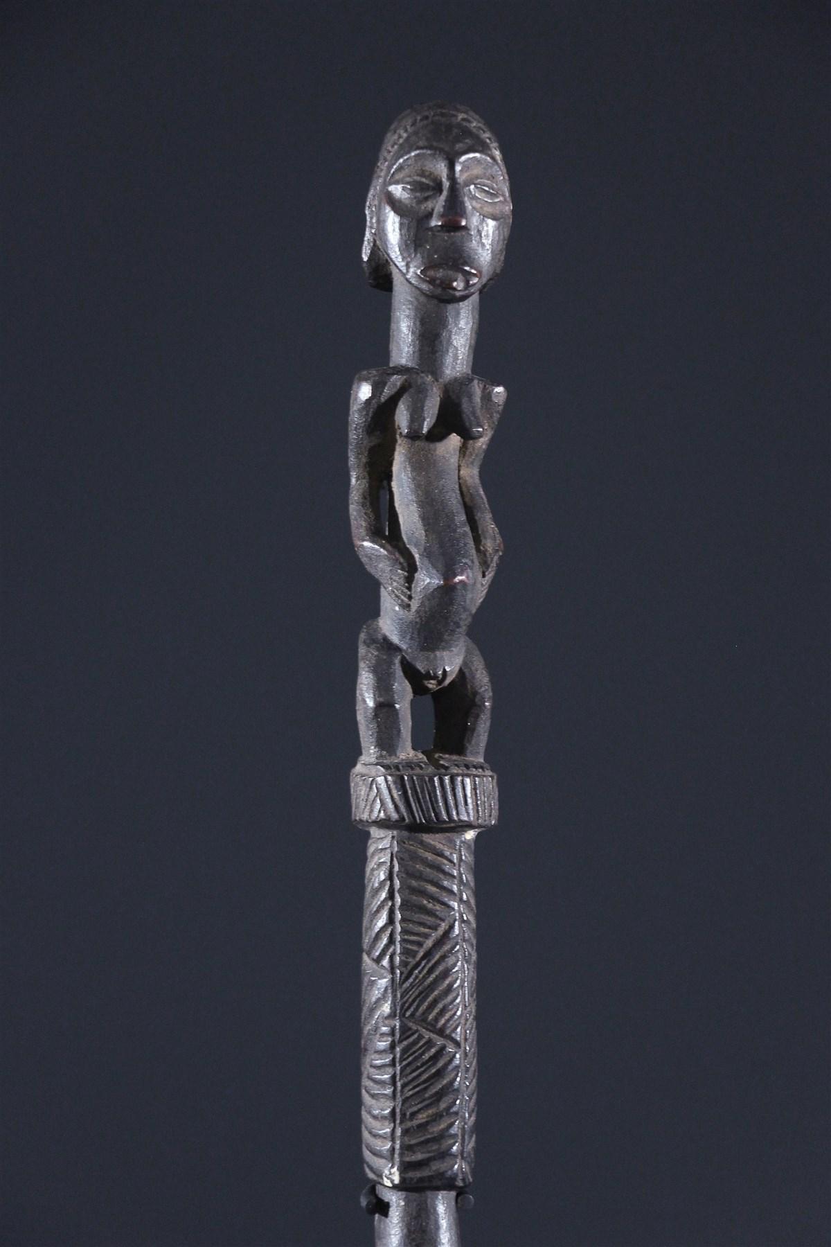 Sceptre Baluba - art africain