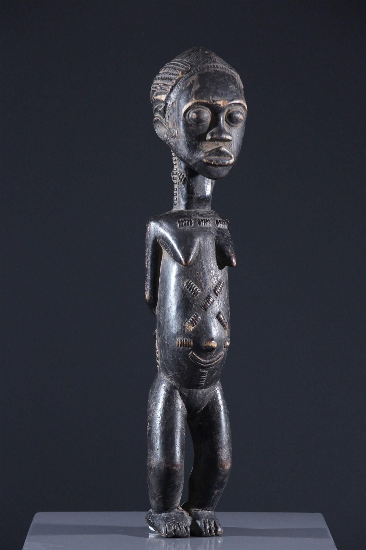Statue Baoulé - art primitif