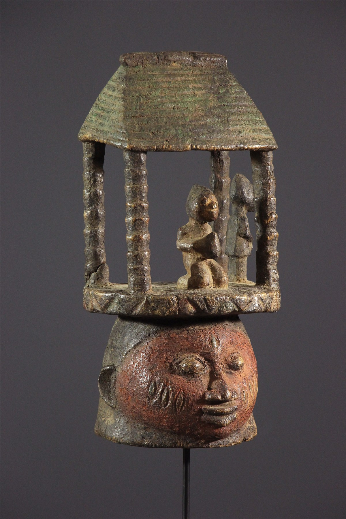 Autel Gelede - art primitif