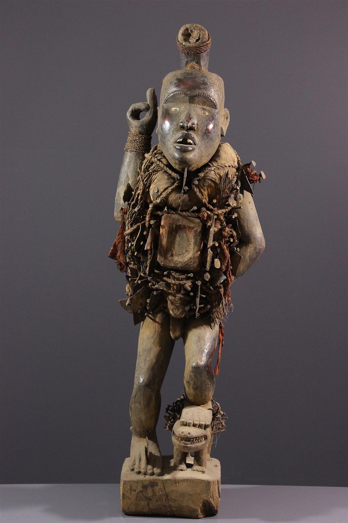 Grand fétiche Nkisi - art africain
