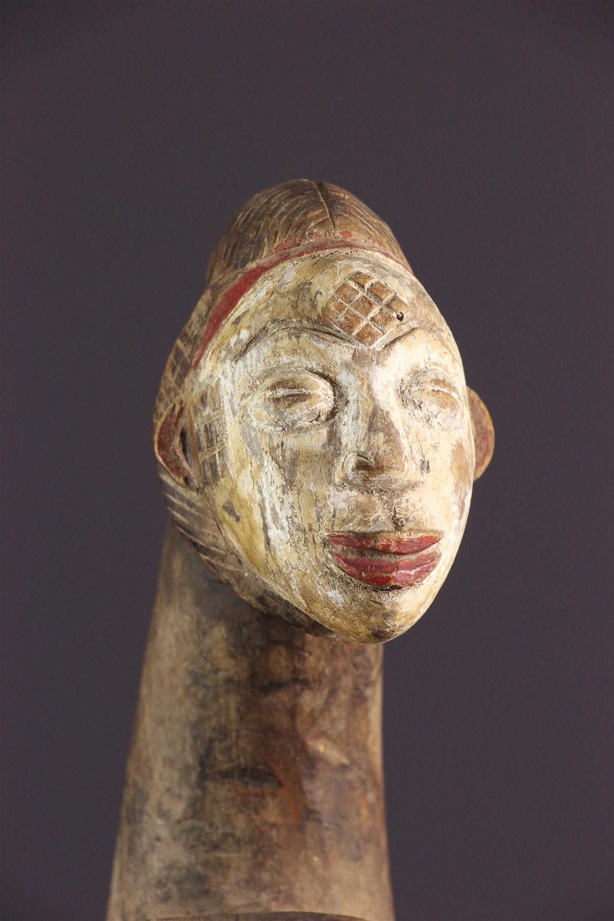 Soufflet de forge  Okuka Punu - Art africain