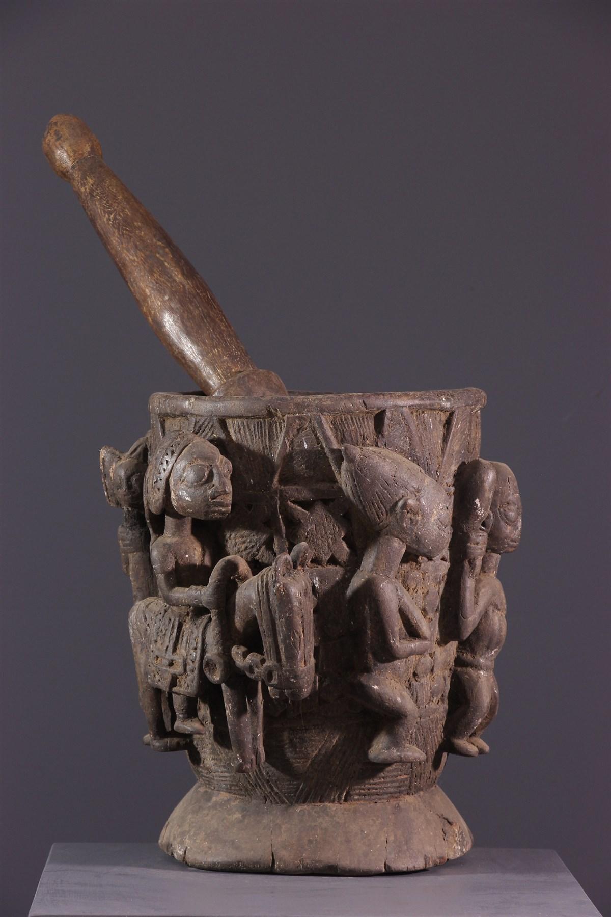 Pot Yoruba - Art africain