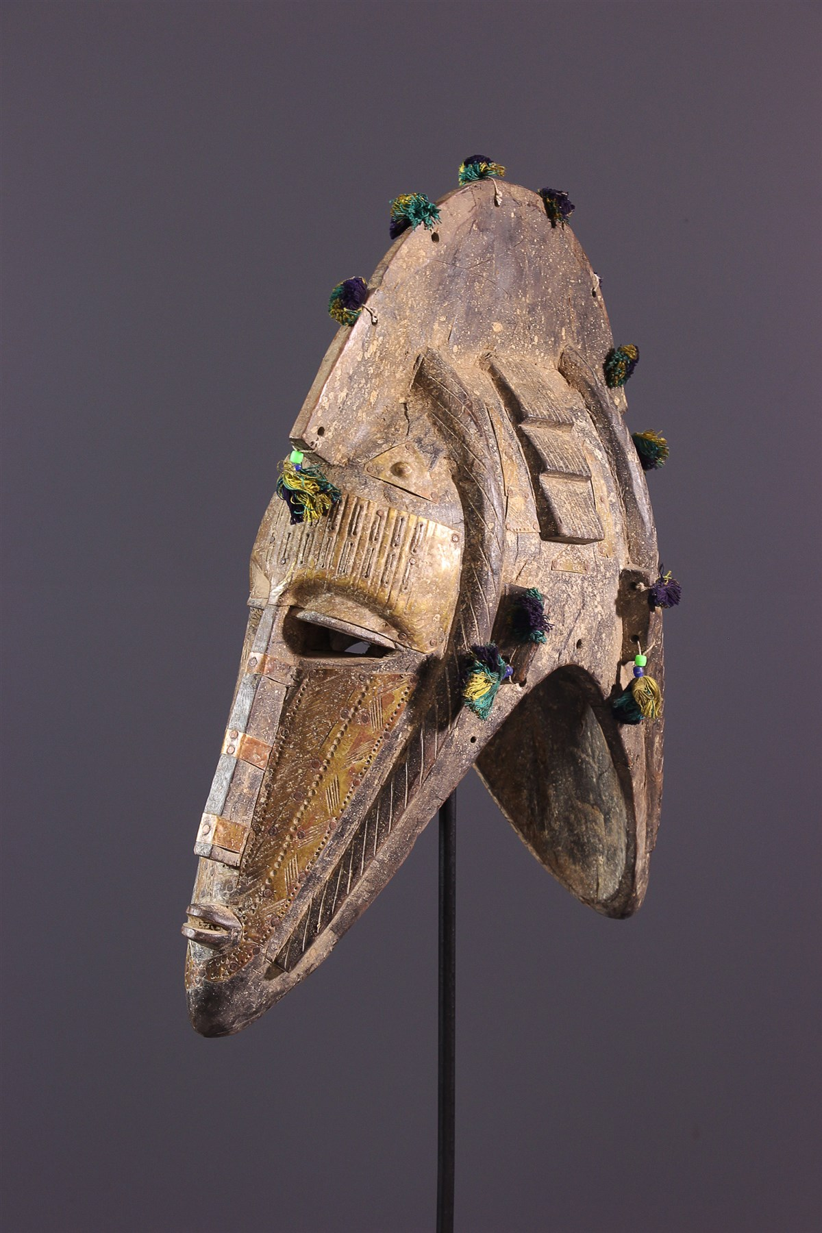 Masque Marka janus - art primitif