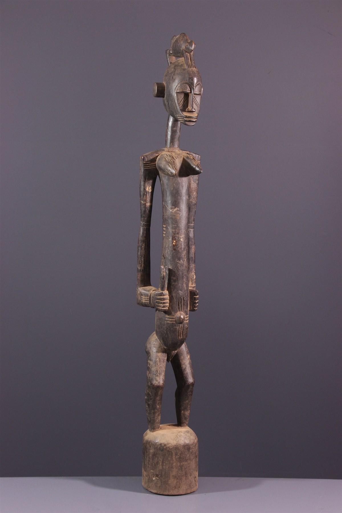 Statue pilon Debele Senoufo - Art africain