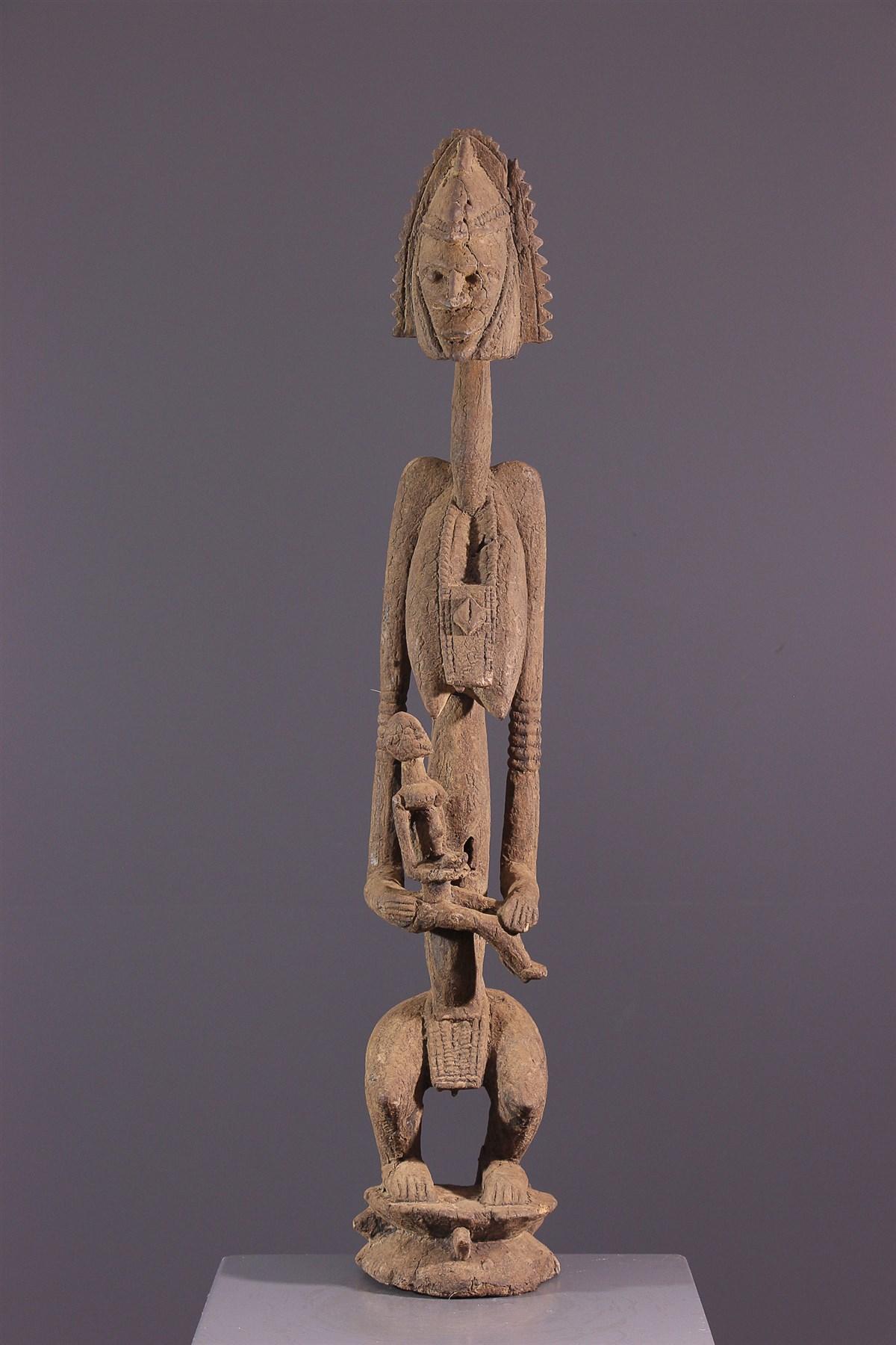 Maternité Dogon - art primitif