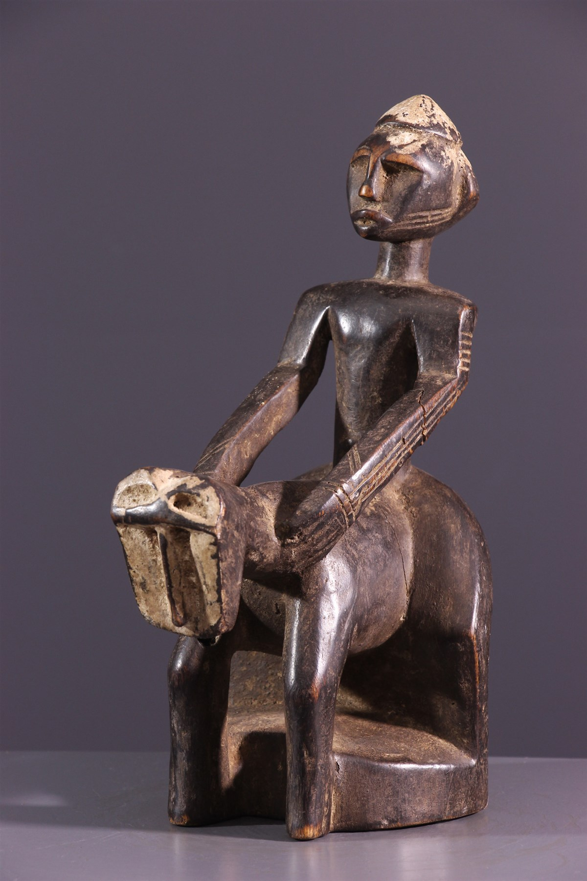 Cavalier Dogon - art primitif