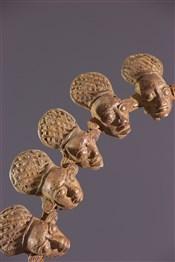 bronze africainCollier Mbangba Bamoun