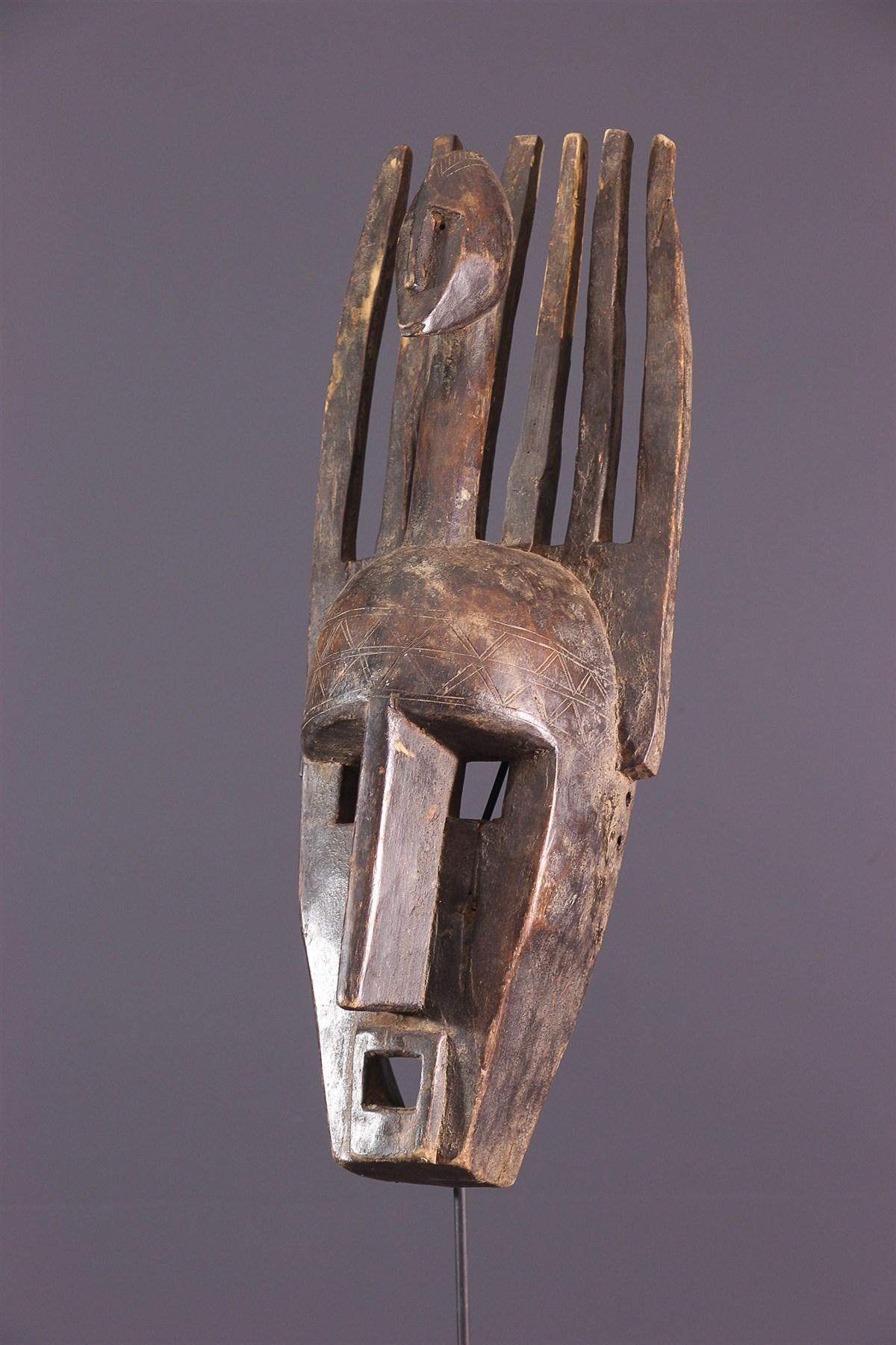 Masque Ntomo Bambara - art primitif