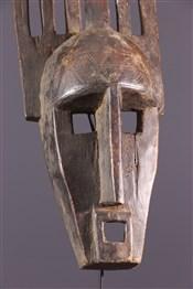 Masque africainMasque Ntomo Bambara
