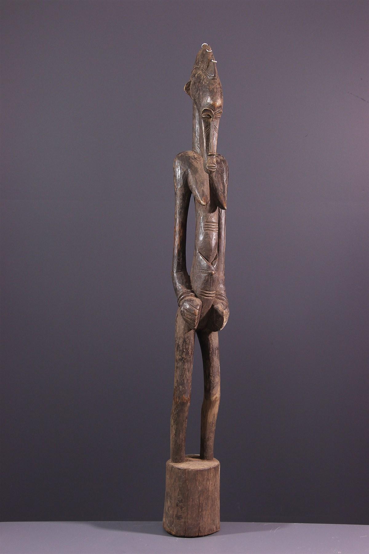 Statue pilon Debele Senoufo - art primitif