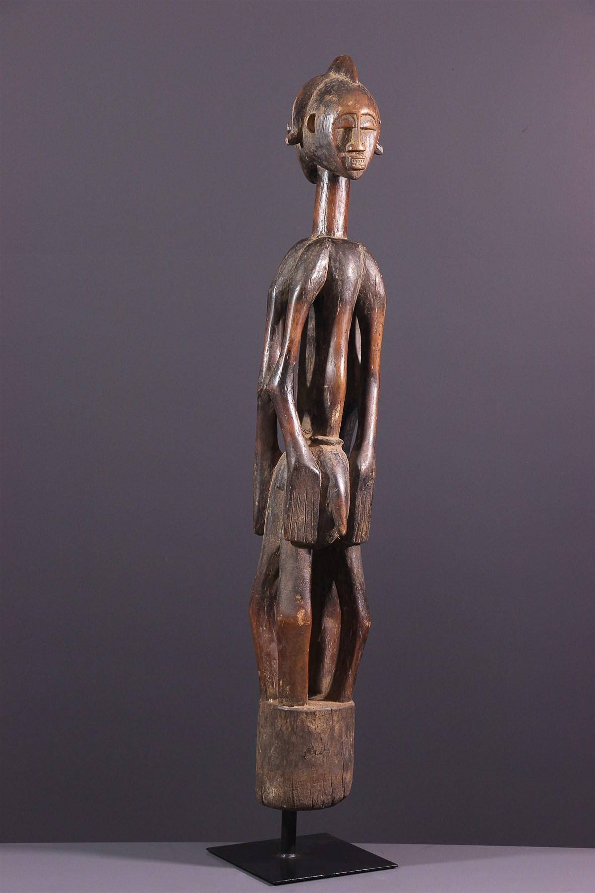 Statue janus Debele Senoufo - art primitif