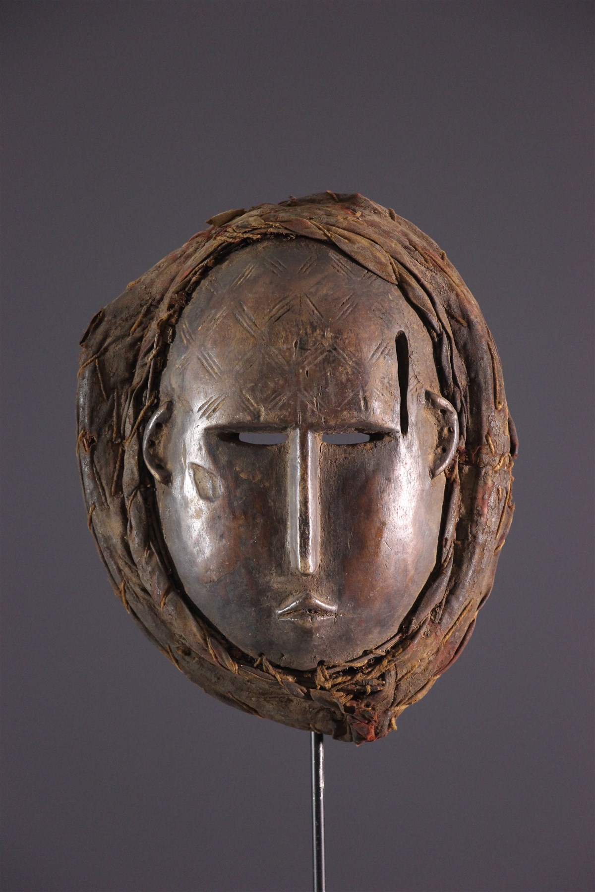 Masque Baoulé - art primitif