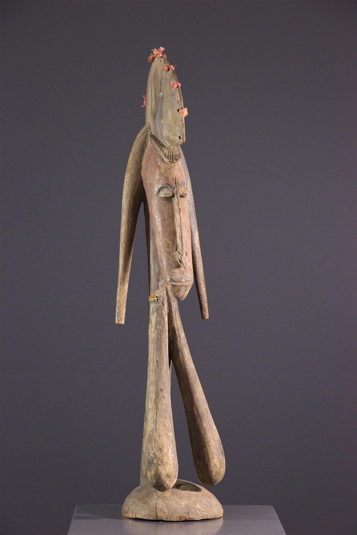 Marionnette Bambara Merekun - art primitif