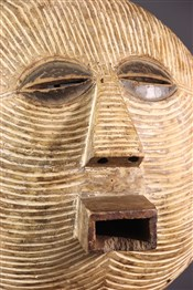 Masque africainMasque  Luba kifwebe