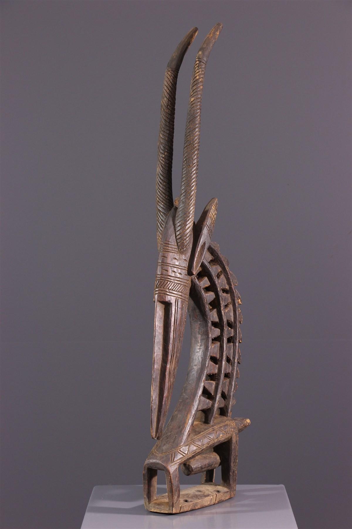 Masque cimier Ci Wara Bambara - art africain