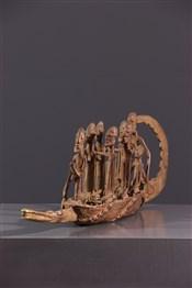 bronze africainPirogue Dogon
