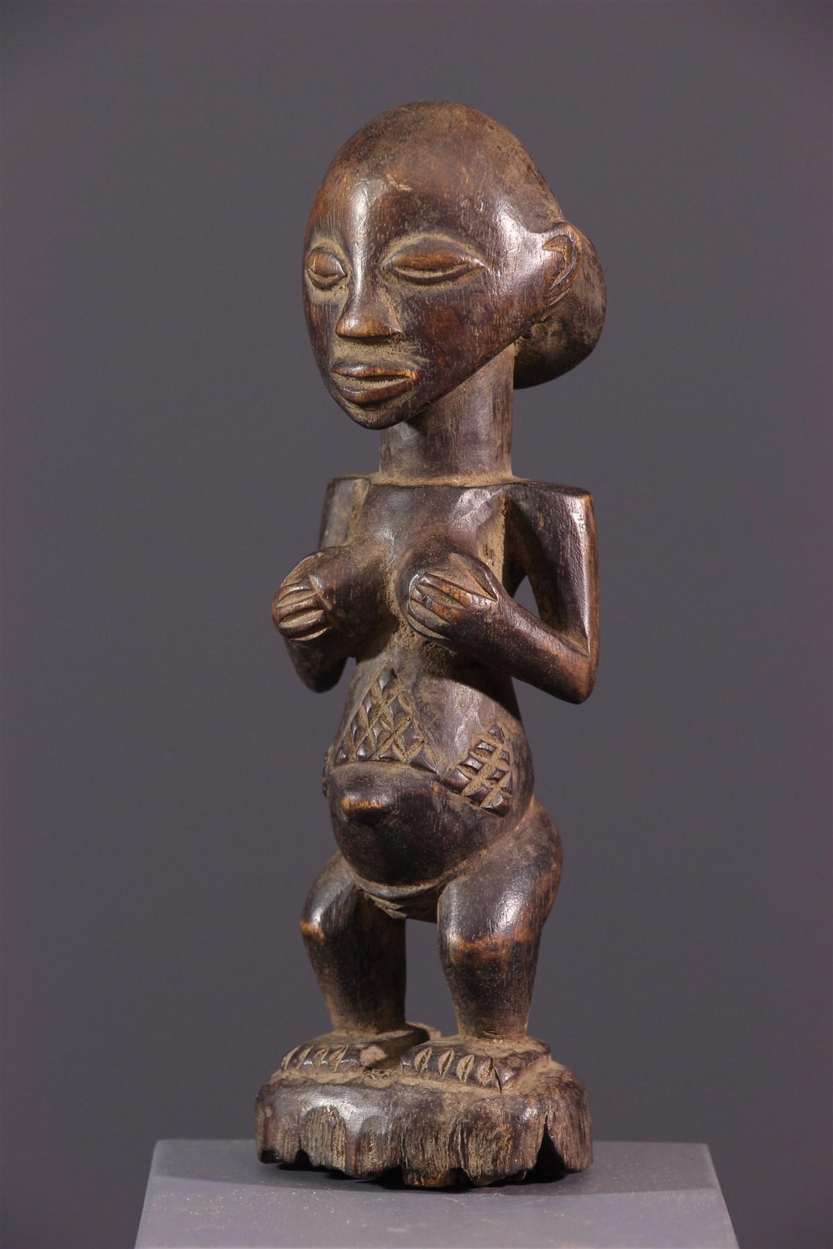 Statuette Luba - art primitif