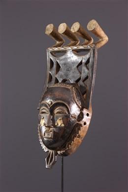 Masque Yohouré Kokolé Kwain