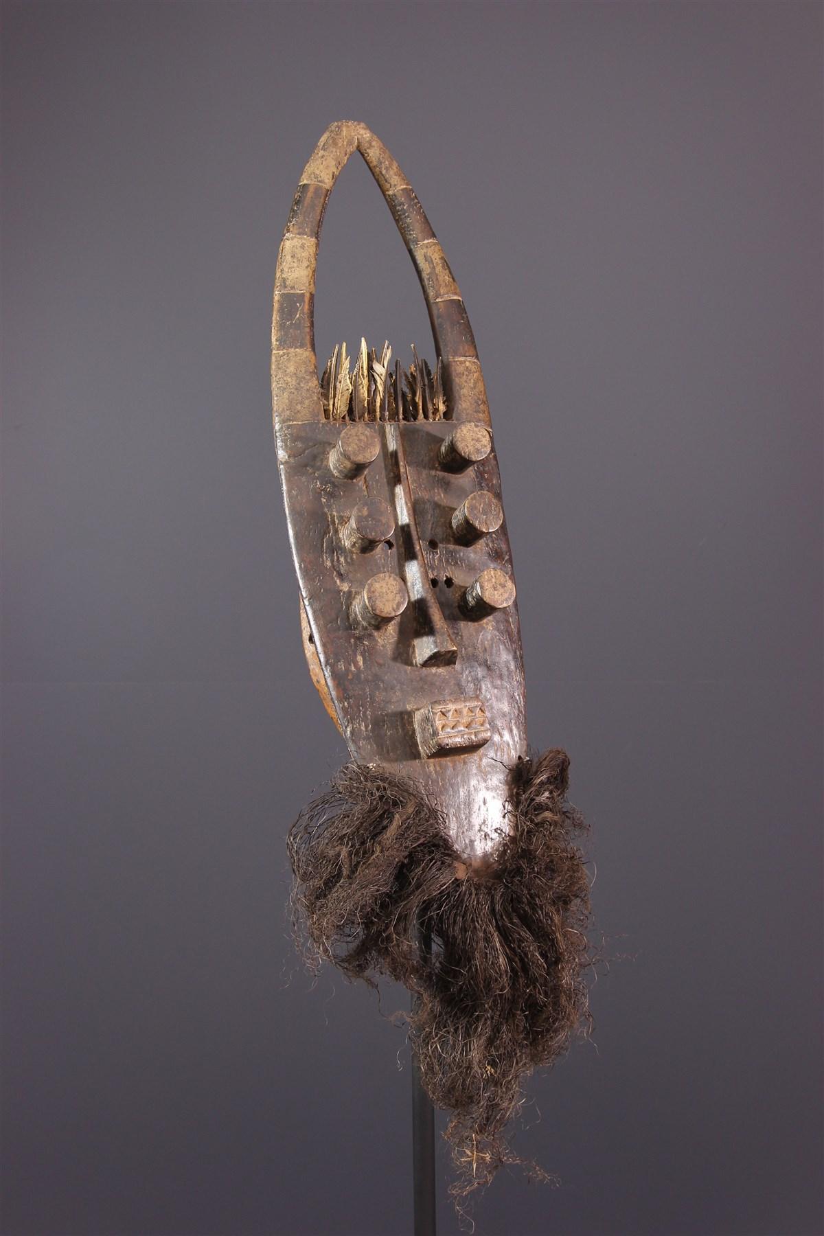 Masque Grebo - art primitif