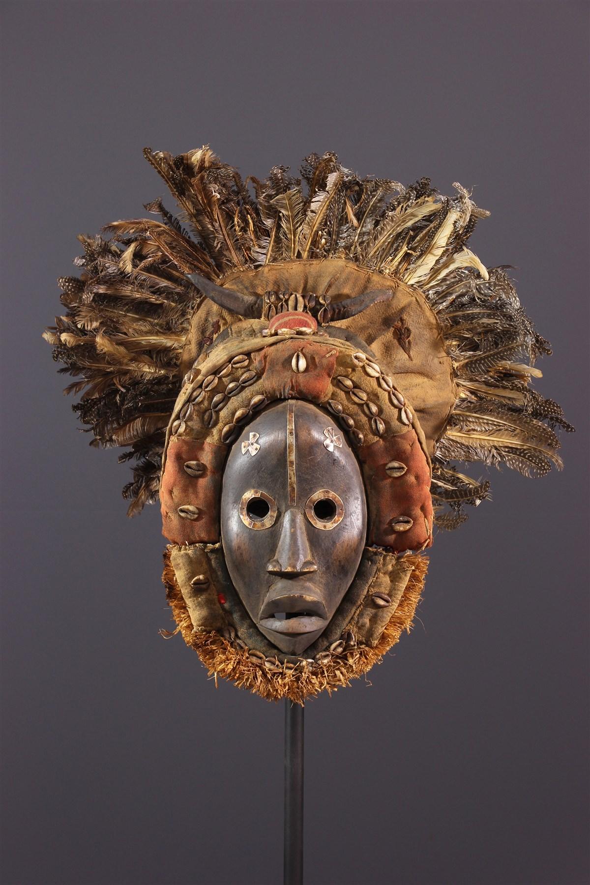 Masque Go ge Dan - art primitif