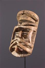 Masque africainMasque  facial Bété