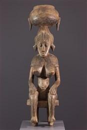 Statues africainesEffigie tutélaire Sénoufo
