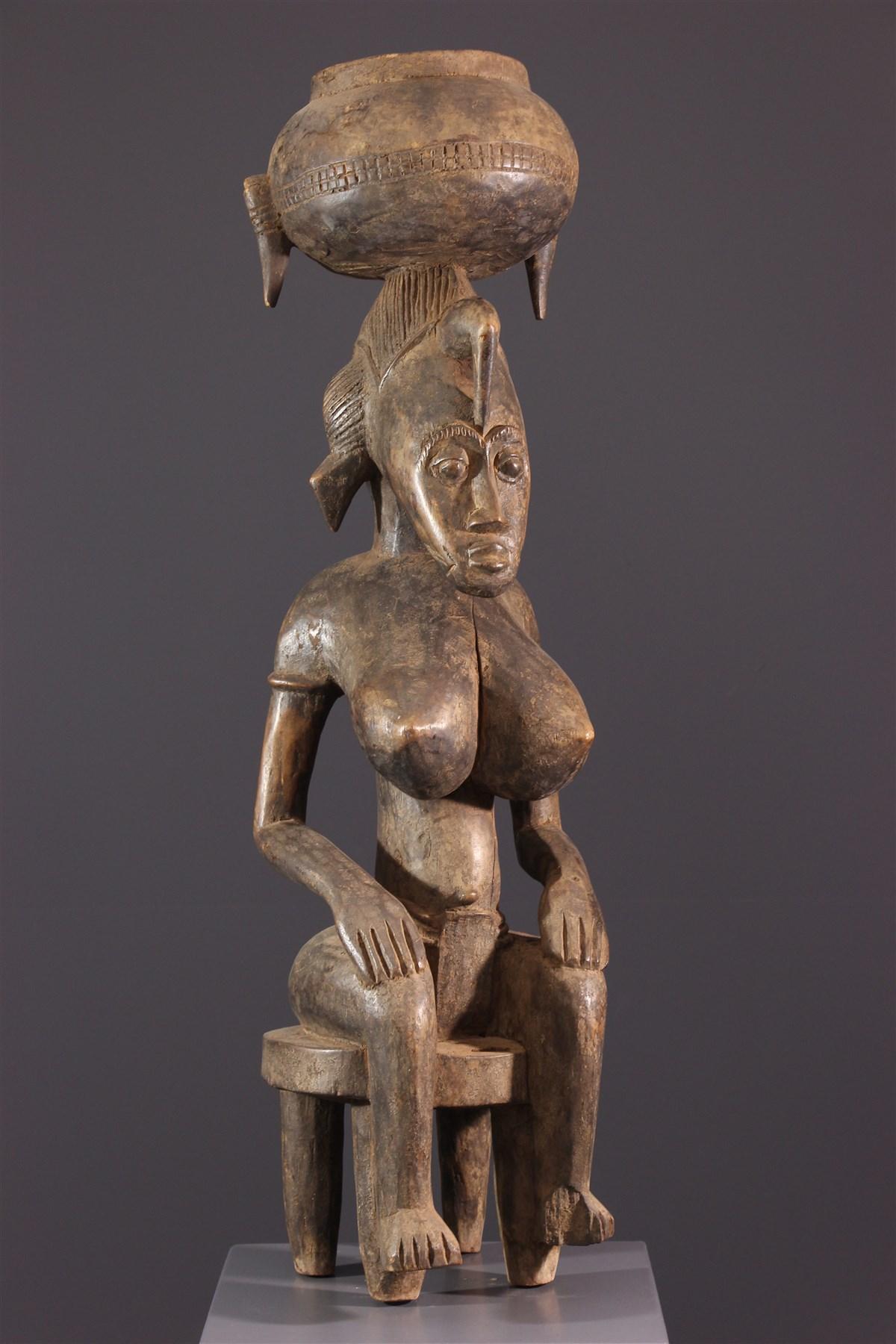 Effigie tutélaire Sénoufo - Art africain