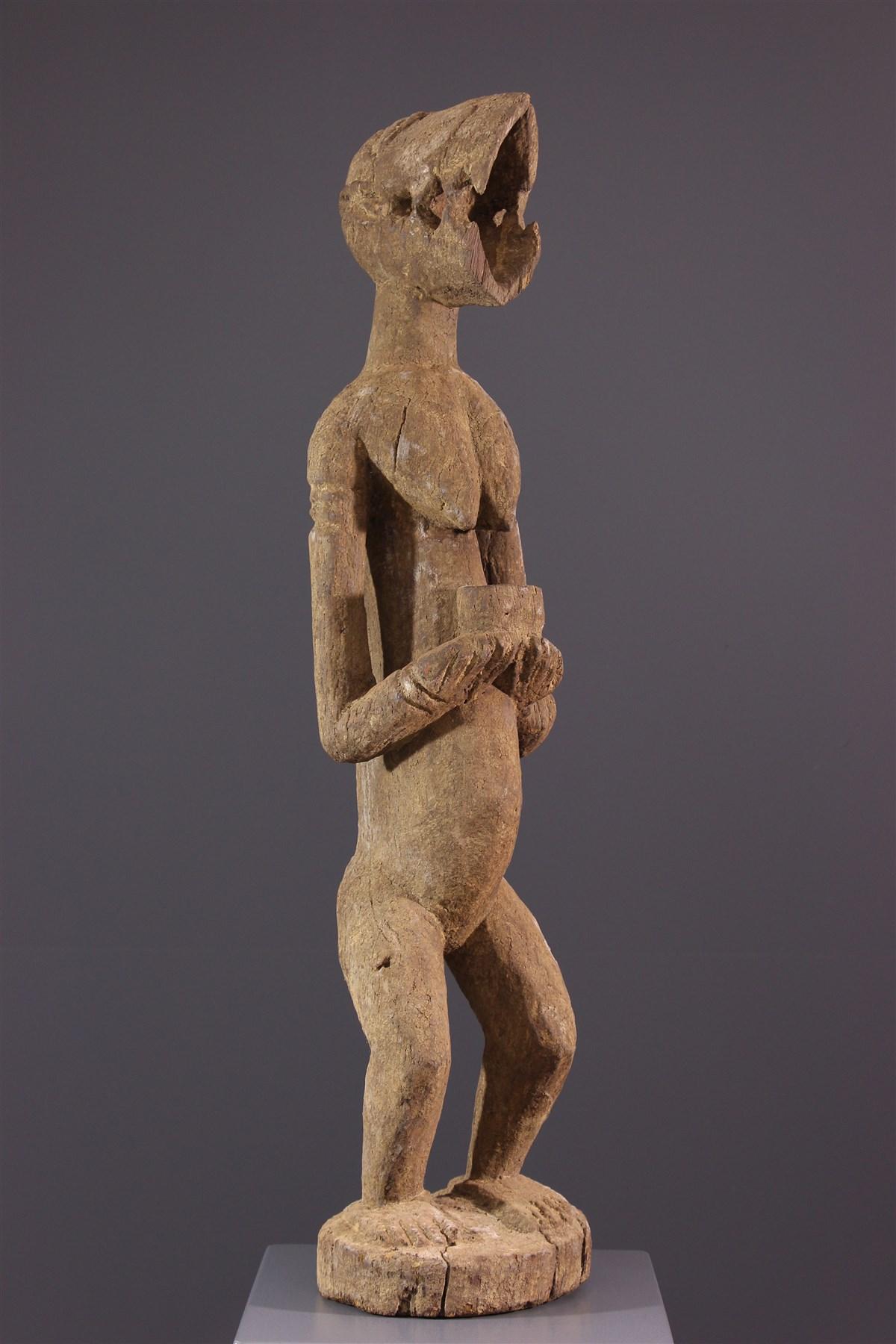 Statue Baoulé du Mbra - art africain