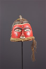 Masque africainMasque heaume Bozo