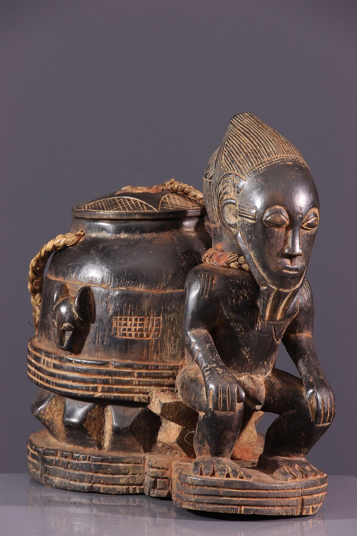 Boîte à souris Baoulé - Art africain