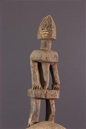 Masque africainMasque picoreur dyodyomini Dogon