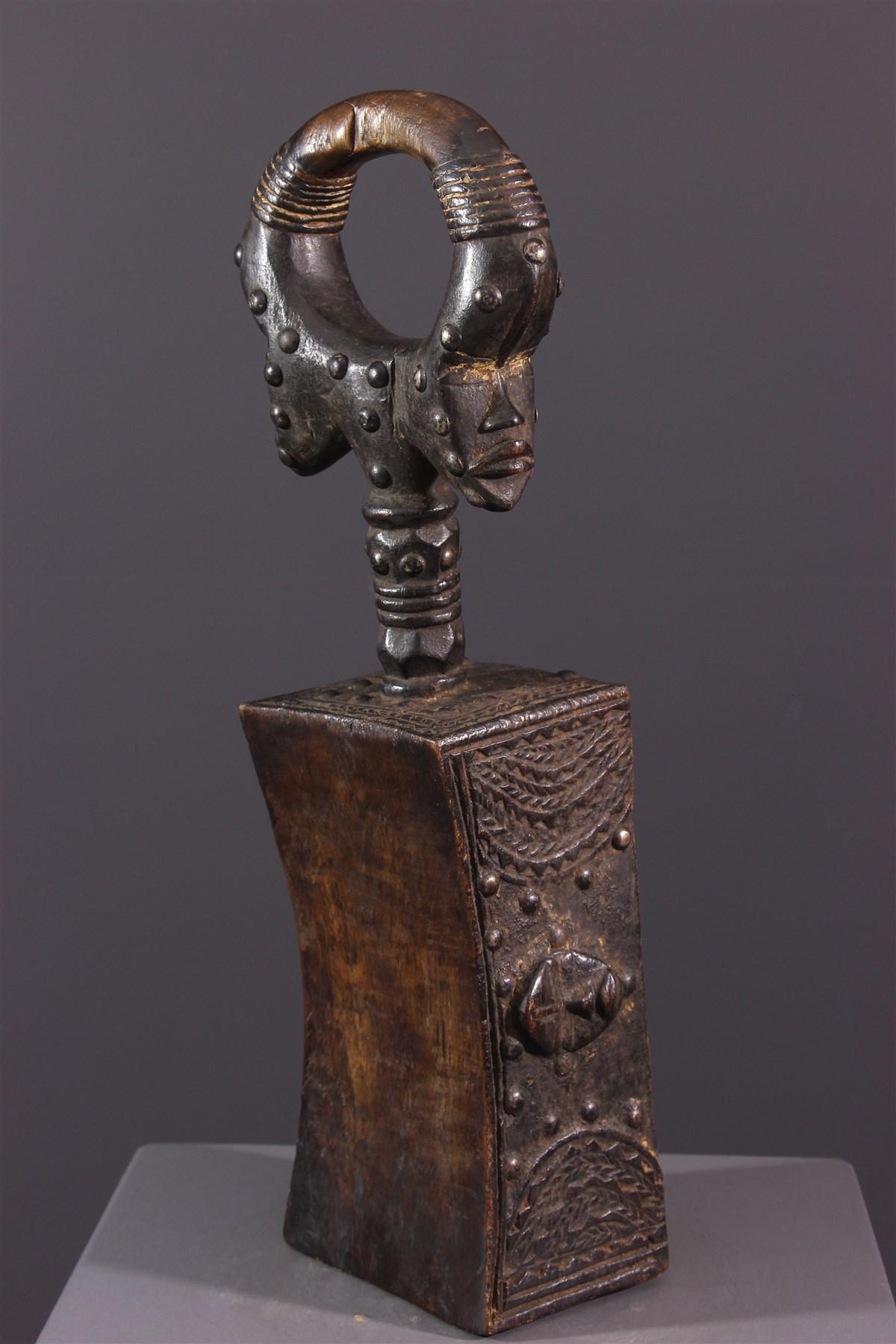 Appuie-nuque Dan - Art africain