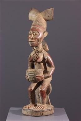 Maternité porteuse de coupe Yoruba